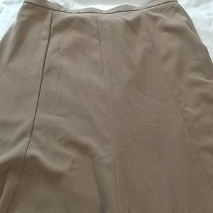 Brown skirt by Kim Rogers